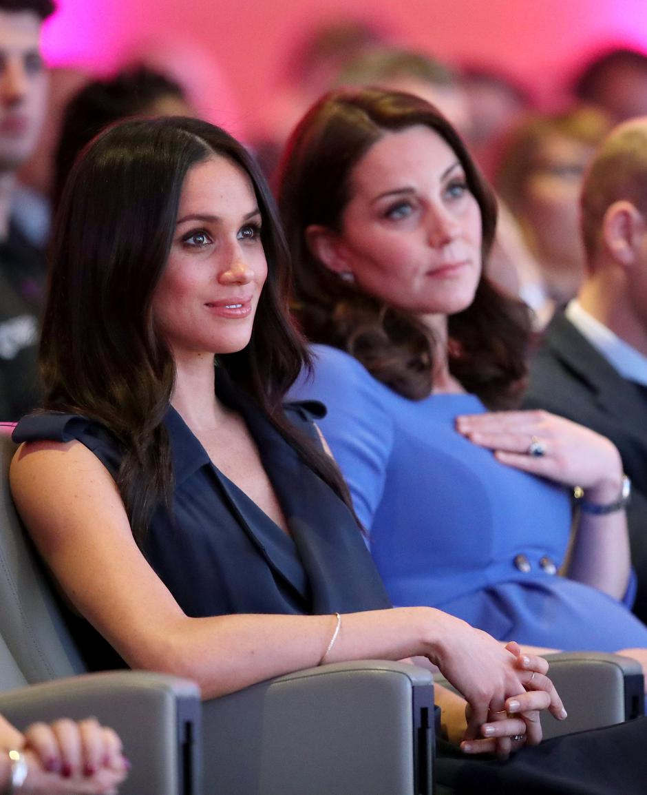 Britain's Catherine, Duchess of Cambridge and Prince Harry's fiancee Meghan Markle attend the first annual Royal Foundation Forum held at Aviva in London | Autor: pool/REUTERS/PIXSELL/REUTERS/PIXSELL
