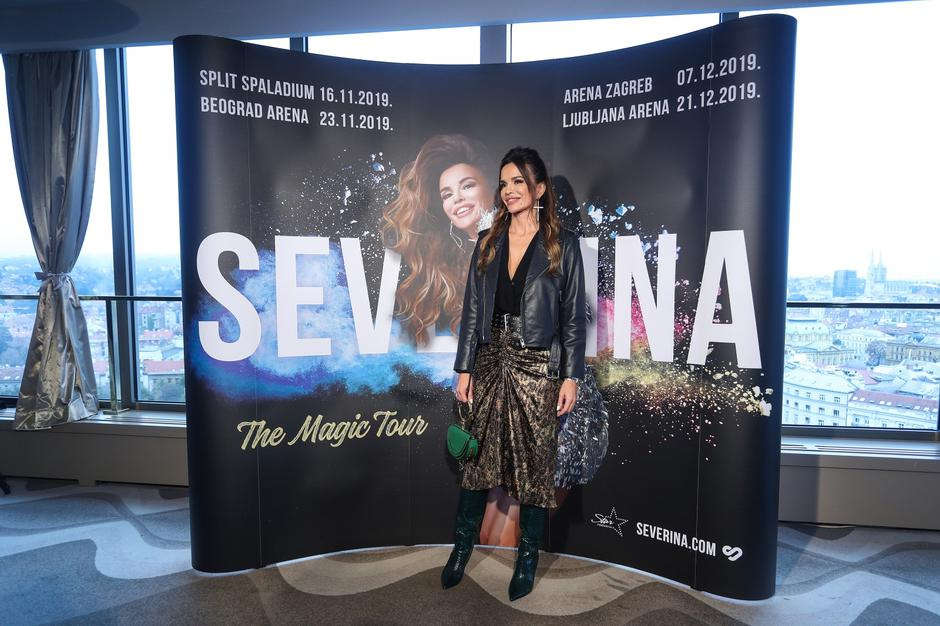 "Severina najavila veliku regionalnu turneju ""The Magic Tour"" 
