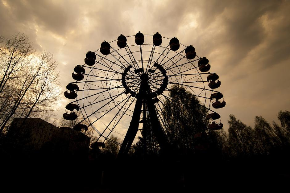 Ferris wheel in amusement park in Pripyat | Autor: Dreamstime