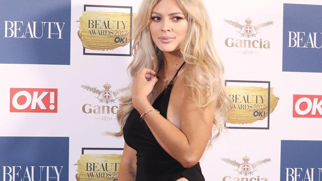Danielle Sellers  arrives for The Beauty Awards with OK! in  London