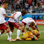 World Cup - Round of 16 - Croatia vs Denmark