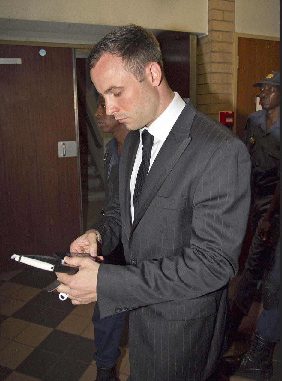 Oscar Pistorius arriving for sentencing at the High Court | Autor: Peter Jordan/News Syndication/PIXSELL/NI Syndication/PIXSELL