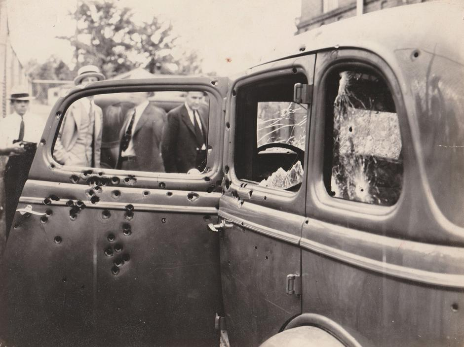 UNSEEN END OF BONNIE AND CLYDE | Autor: PHOTOGRAPHS DO NOT BEND GALLERY / CATERS NEWS