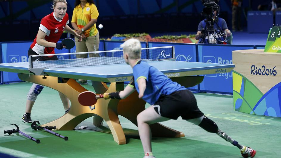 Table Tennis - Women's Single Class 6 Gold Medal Final