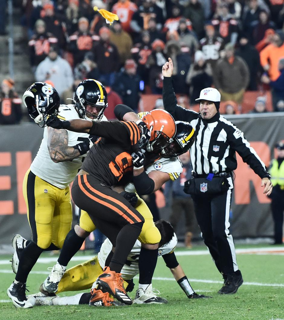 NFL: Pittsburgh Steelers at Cleveland Browns | Autor: Ken Blaze
