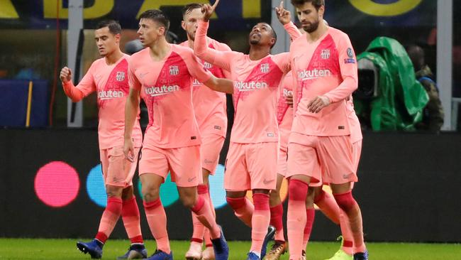 Champions League - Group Stage - Group B - Inter Milan v FC Barcelona