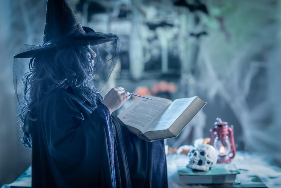 Witch With Magic Book | Autor: Milan Markovic