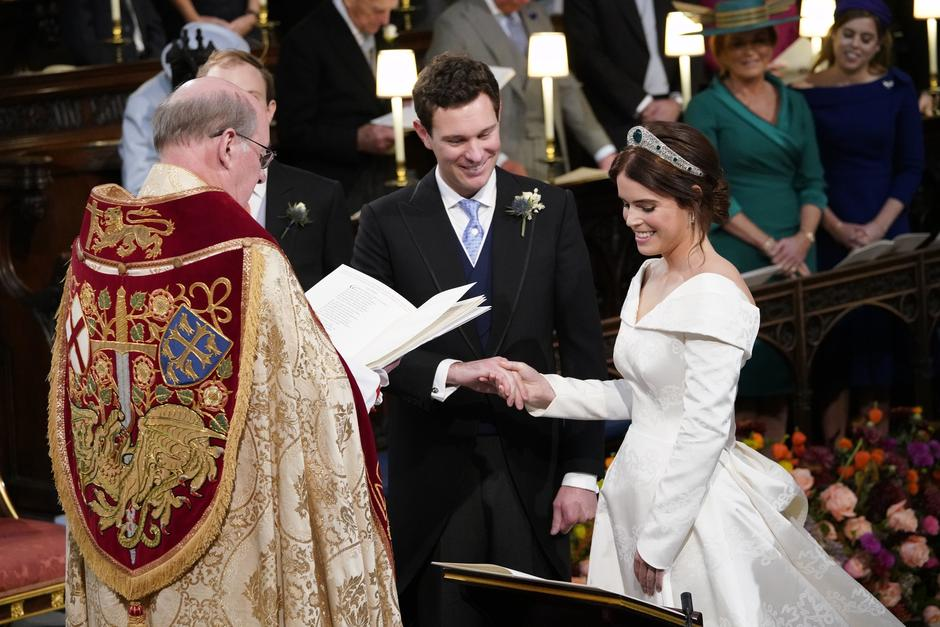Princess Eugenie wedding | Autor: Danny Lawson/Press Association/PIXSELL