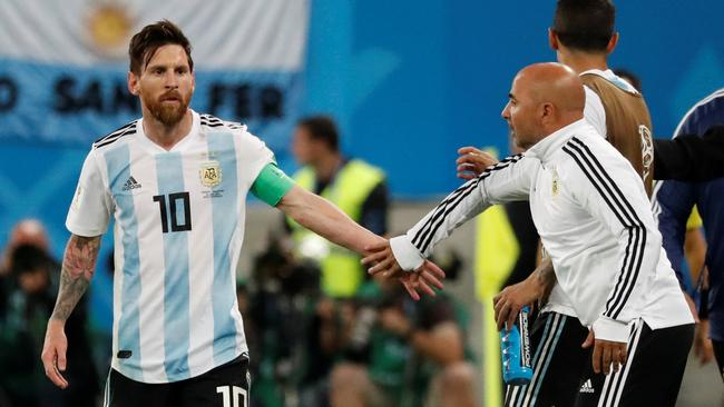 World Cup - Group D - Nigeria vs Argentina