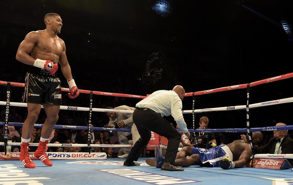Anthony Joshua v Kevin Johnson | Autor: Arfa Griffiths/News Syndication/PIXSELL/NI Syndication/PIXSELL