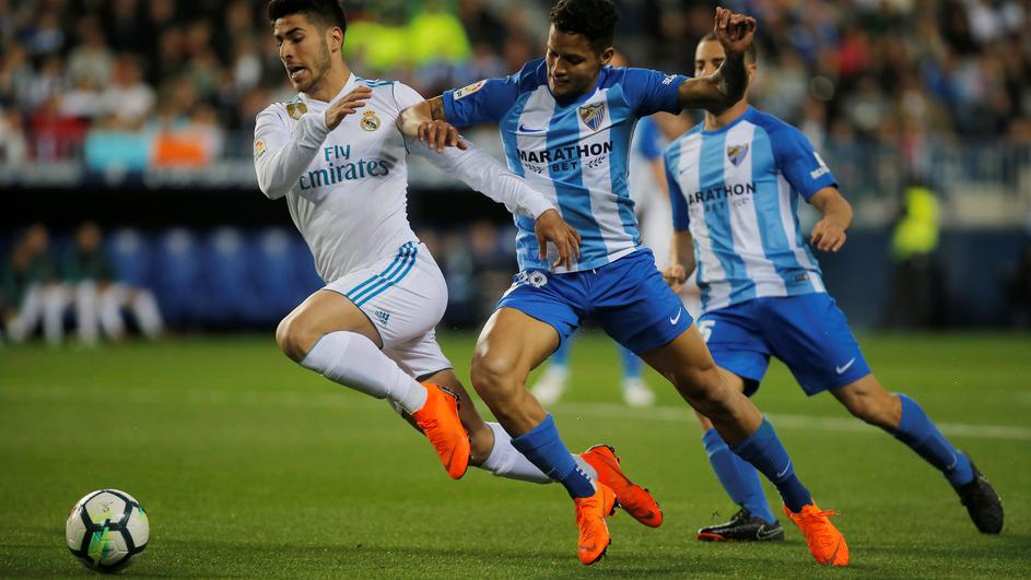 La Liga Santander - Malaga CF vs Real Madrid