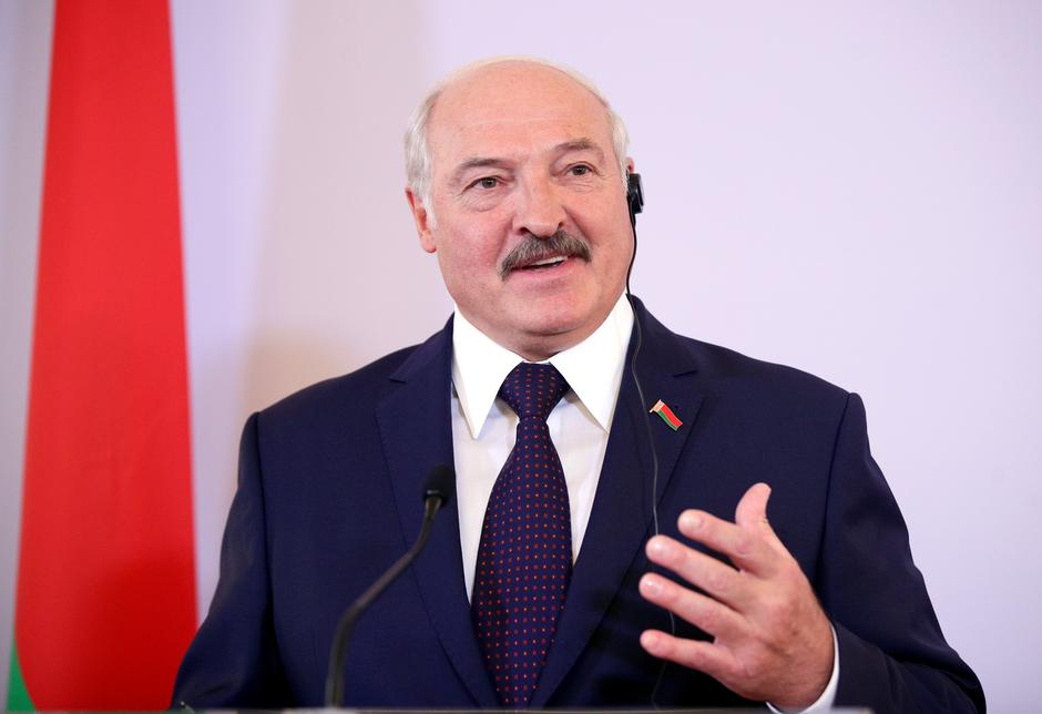 Belarusian President Alexander Lukashenko attends a news conference in Vienna | Autor: LISI NIESNER/REUTERS/PIXSELL/REUTERS/PIXSELL