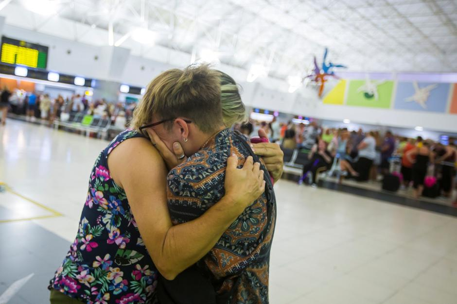 Thomas Cook passengers are seen at Las Palmas Airport after the world's oldest travel firm collapsed | Autor: BORJA SUAREZ/REUTERS/PIXSELL/REUTERS/PIXSELL