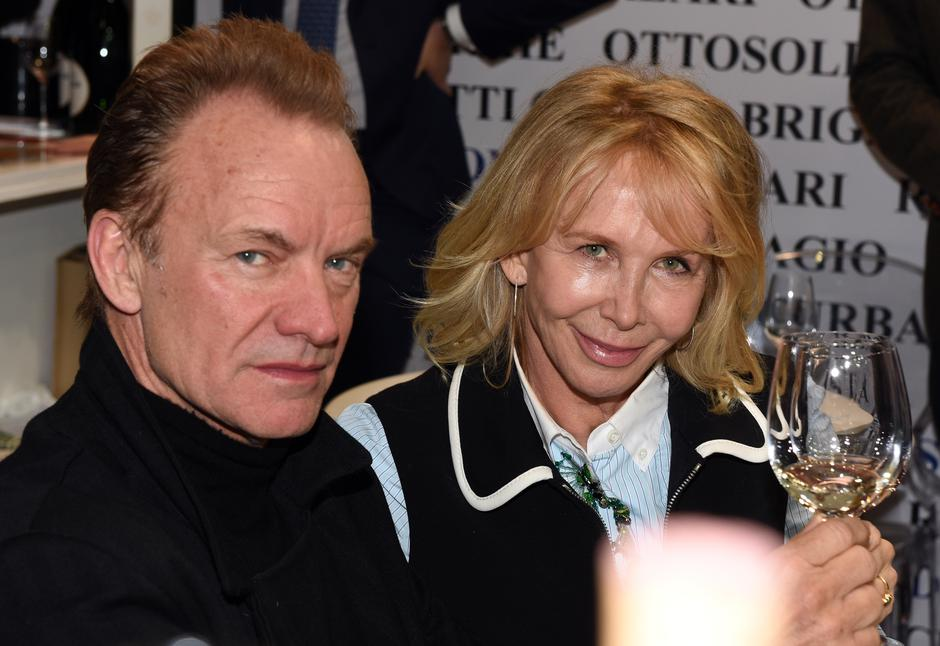 Sting and wife at ProWein trade fair | Autor: Horst Ossinger/DPA/PIXSELL