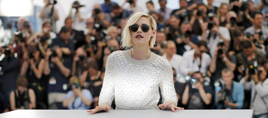 "Cast member Kristen Stewart poses during a photocall for the film ""Personal Shopper"" in competition at the 69th Cannes Film Festival in Cannes 