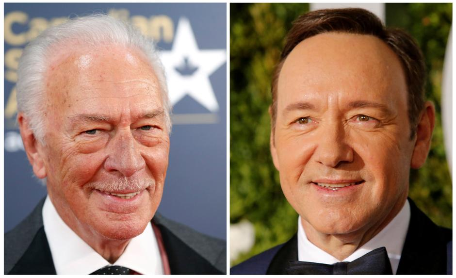 Actors Chris Plummer and Kevin Spacey in a combination photograph. | Autor: STRINGER/REUTERS/PIXSELL/REUTERS/PIXSELL