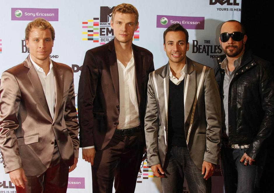 MTV Europe Music Awards - Backstreet Boys | Autor: C3396 Hubert Boesl/DPA/PIXSELL