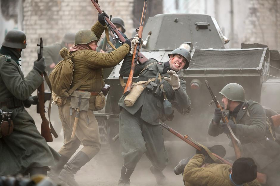 Historic reenactment of battle for Stalingrad | Autor: Profimedia