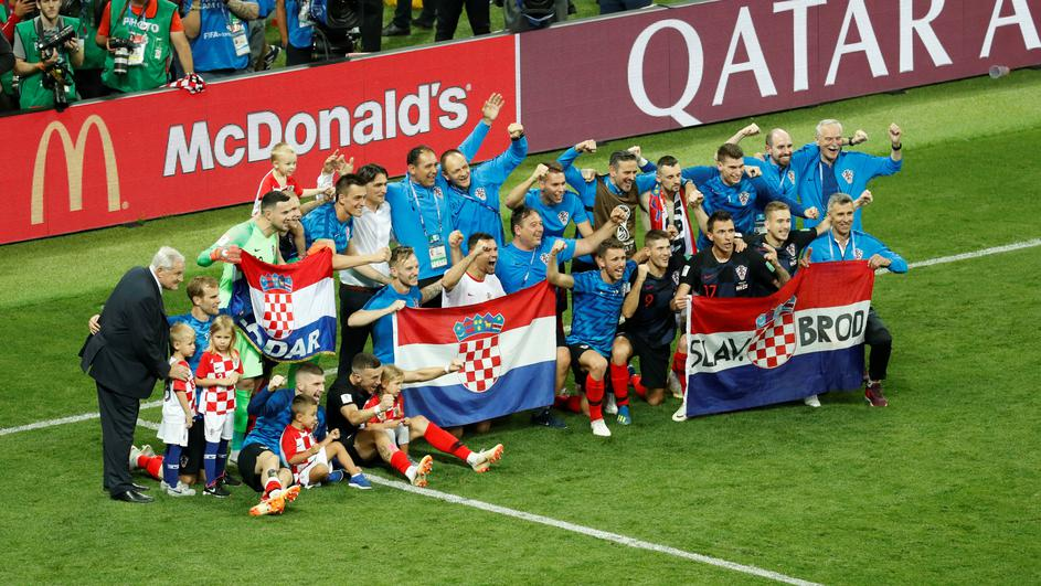World Cup - Semi Final -  Croatia v England