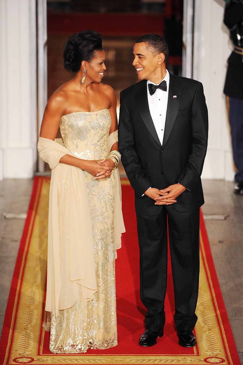 President and First Lady Obama Hosts State Dinner For Indian Prime Minister - DC | Autor: Olivier Douliery/Press Association/PIXSELL