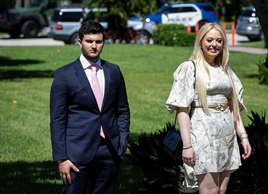 Tiffany Trump, daughter of U.S. President Donald Trump, and her boyfriend Michael Boulos | Autor: ALEXANDER DRAGO/REUTERS/PIXSELL/REUTERS/PIXSELL