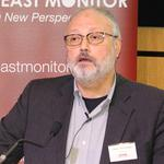 FILE PHOTO: Saudi dissident Jamal Khashoggi speaks at an event hosted by Middle East Monitor in London