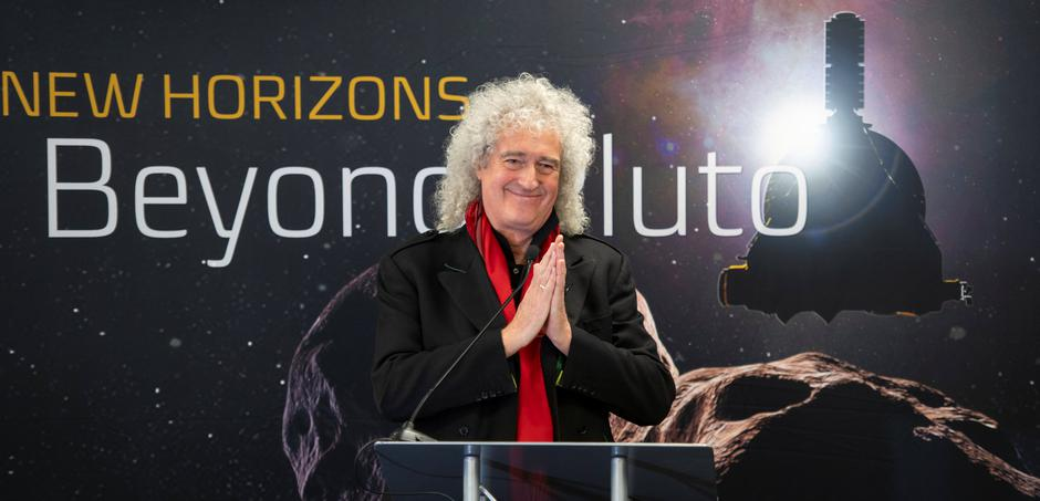 Brian May discusses the upcoming New Horizon's flyby of the Kuiper Belt object Ultima Thule | Autor: HANDOUT
