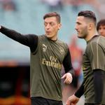 Europa League Final - Arsenal Training