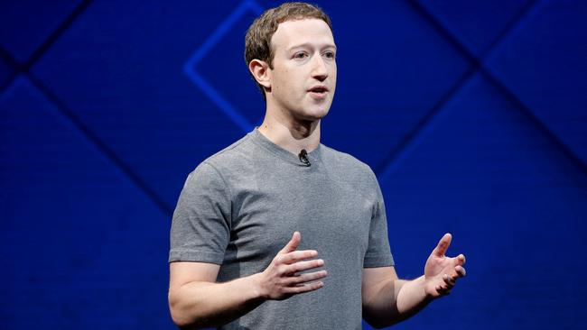 FILE PHOTO: Facebook Founder and CEO Zuckerberg speaks in San Jose