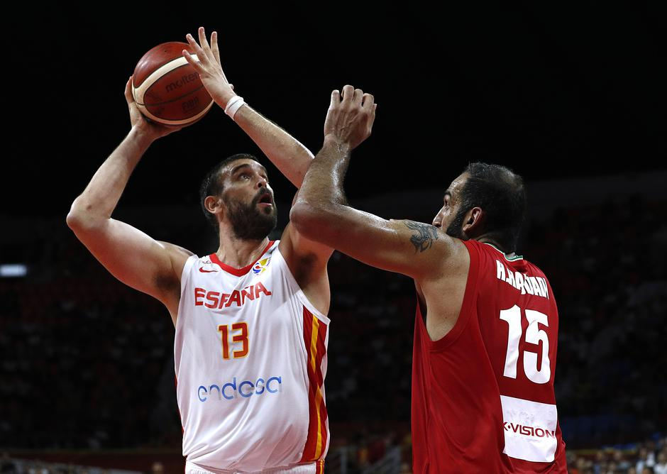 Basketball - FIBA World Cup - First Round - Group C - Spain v Iran | Autor: JORGE SILVA