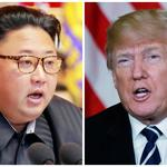 FILE PHOTO: A combination photo of North Korean leader Kim Jong Un and U.S. President Donald Trump