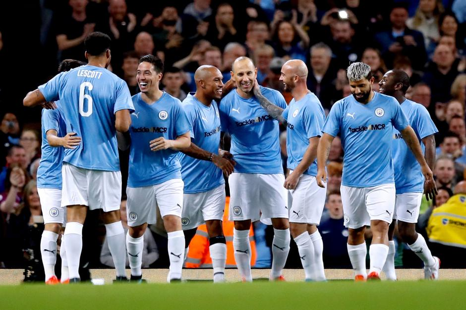 Vincent Kompany Testimonial - Manchester City Legends v Premier League All Stars XI - Etihad Stadium | Autor: Martin Rickett/Press Association/PIXSELL
