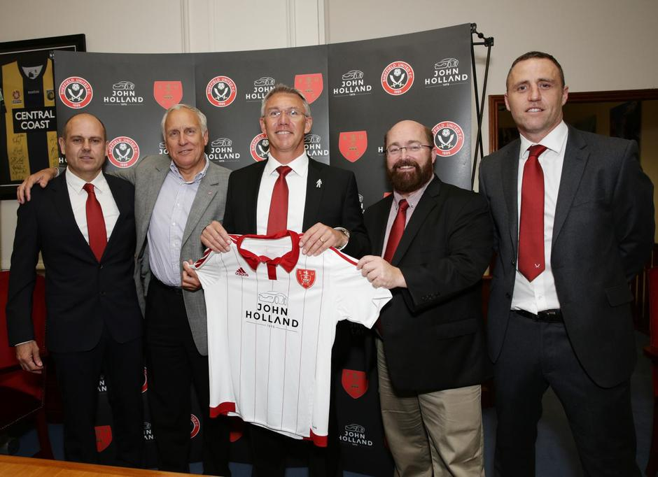 Soccer - Sheffield United Press Conference - London Offices of the Scarborough Group | Autor: Yui Mok/Press Association/PIXSELL