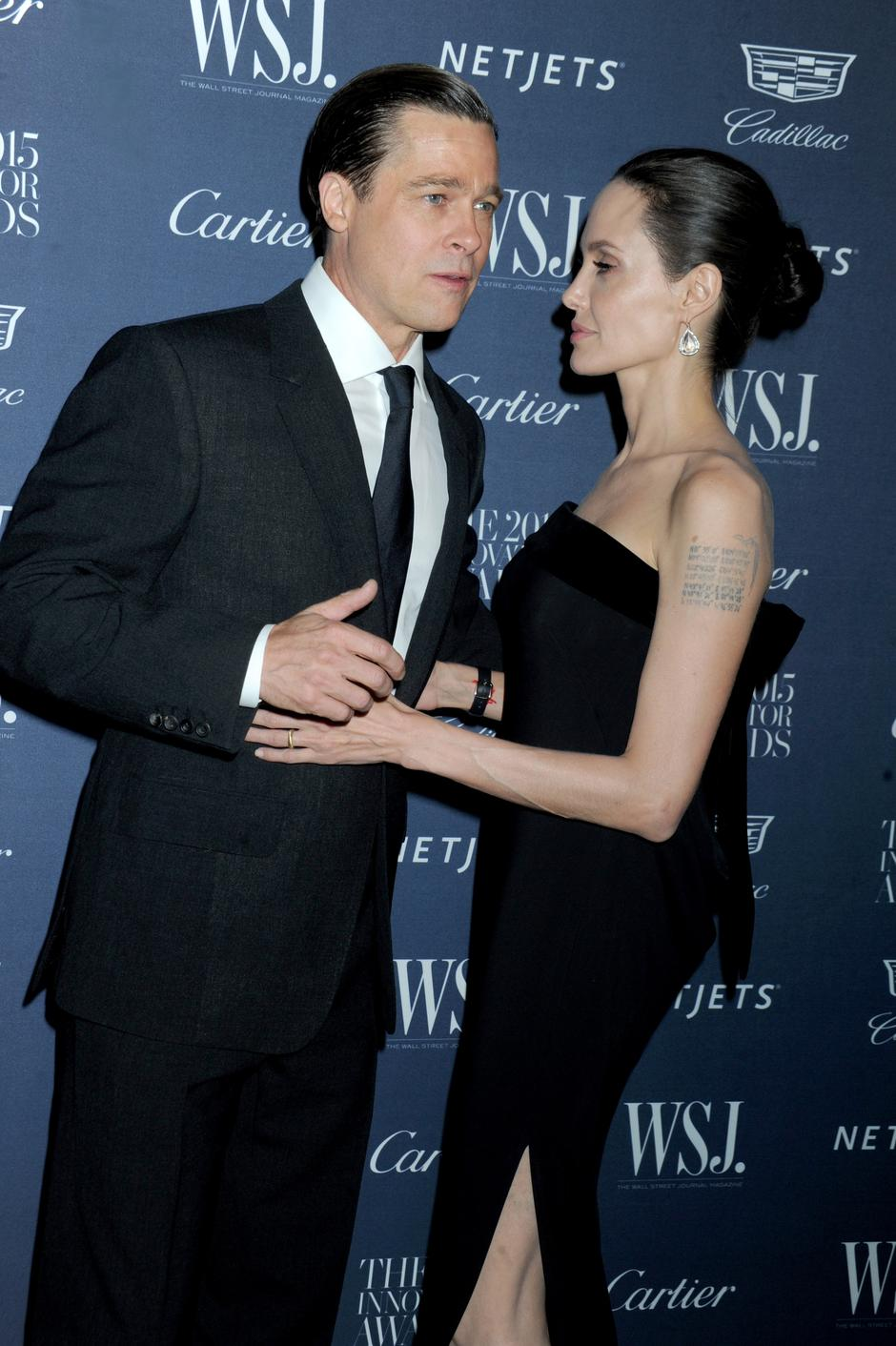 Angelina Jolie And Brad Pitt At Innovator Awards - NYC | Autor: Van Tine Dennis/Press Association/PIXSELL