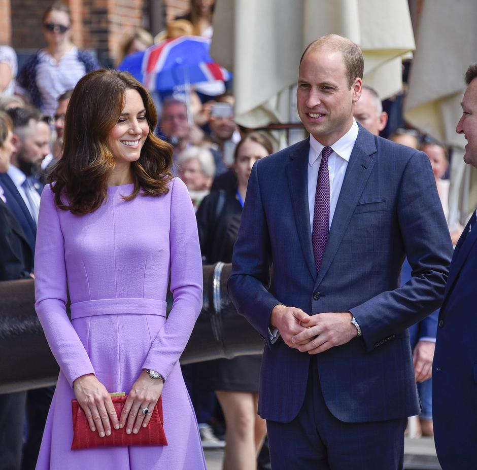Prince William and his wife Kate to Hamburg | Autor: /DPA/PIXSELL