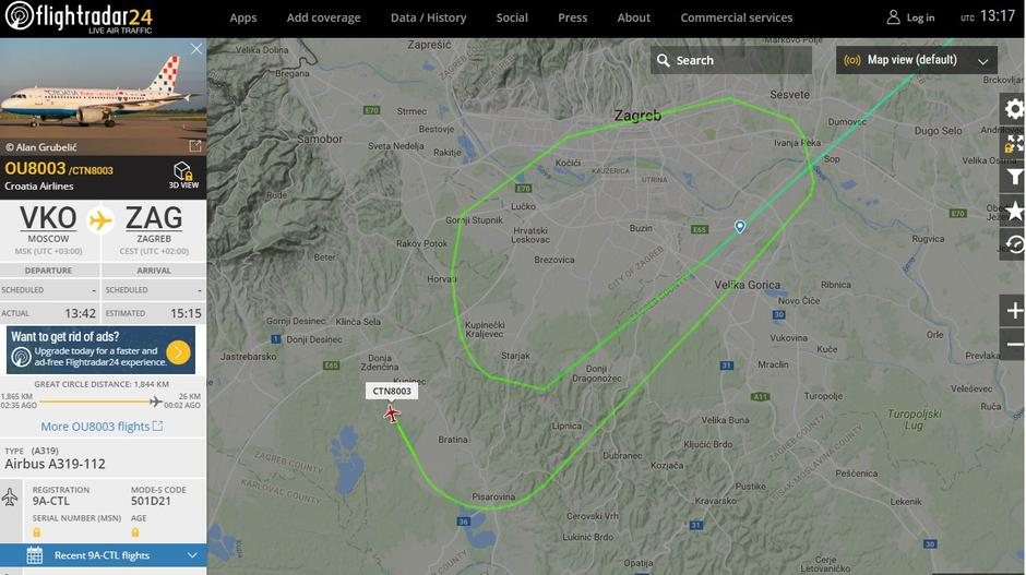 flight radar | Autor: Flight Radar
