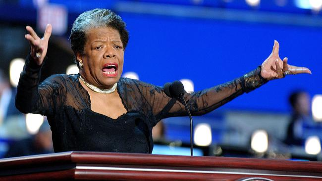 Maya Angelou, renowned poet, novelist and actress, died this morning at age 86