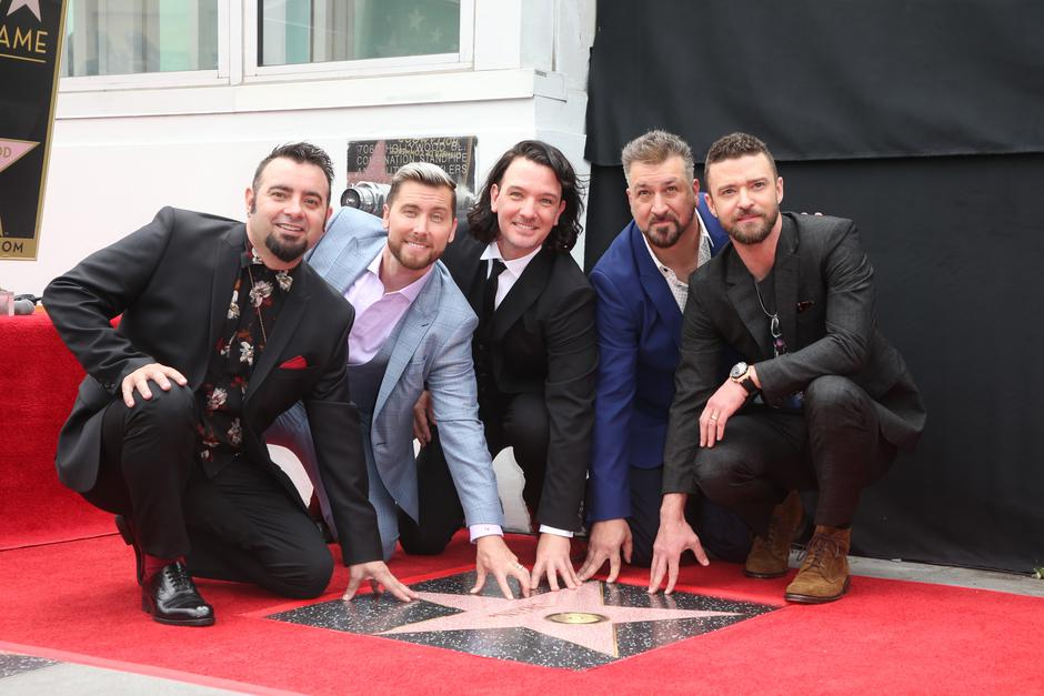 NSYNC Honored With Star On The Hollywood Walk Of Fame | Autor: FS2/WENN/PIXSELL/WENN/PIXSELL.