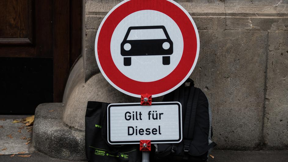 Negotiations on diesel driving ban in Mainz