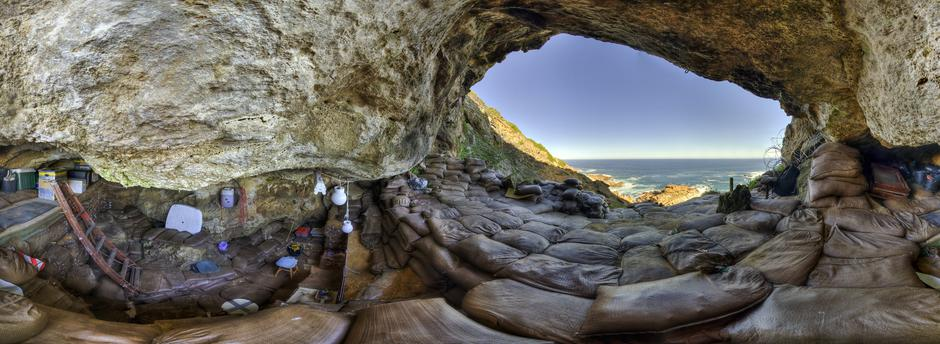 The interior of Blombos Cave on South Africa's southern coast | Autor: Handout/REUTERS/PIXSELL/REUTERS/PIXSELL