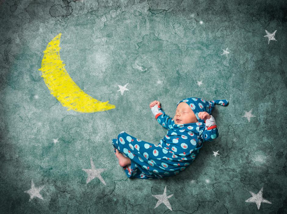 baby sleeping with the stars | Autor: kevinmayer