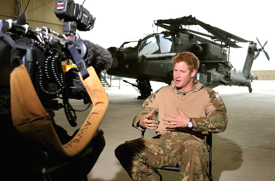 Prince Harry tour of duty in Afghanistan | Autor: John Stillwell/Press Association/PIXSELL