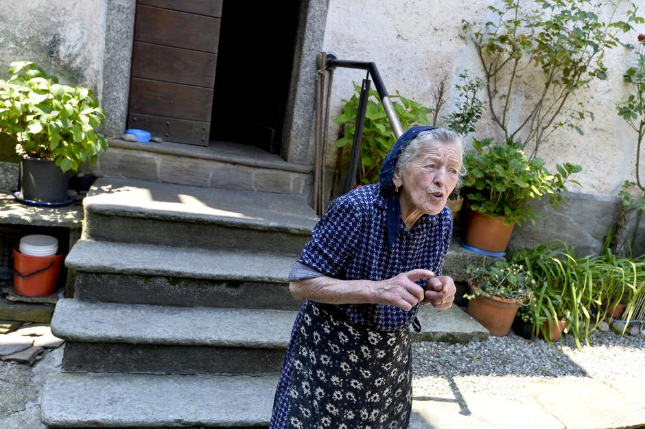 Paolina Grassi, the only inhabitant of the small village of Socraggio in the Cannobina Valley | Autor: IPA/IPA/PIXSELL/IPA/PIXSELL